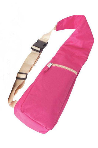 Wine Bottle Sling - Pink