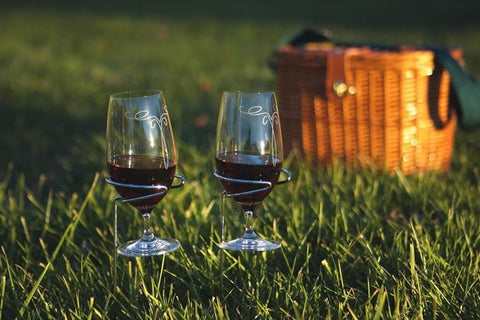 Handy Holder Wine Glasses - Set of Two