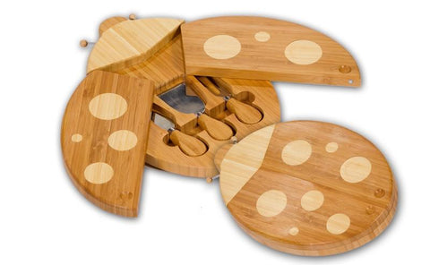 Lady Bug Cheese Board
