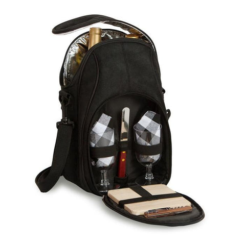 Brava Wine and Cheese Bag - Black
