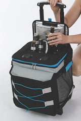 Blue Tooth Music Rolling Cooler with thermal lining