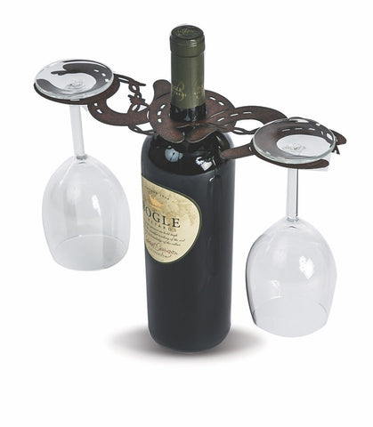 Laser cut Wine Glass Caddy, made in the USA