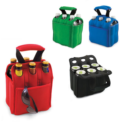 Six Pack Bottle Holder - Beverage Carrier