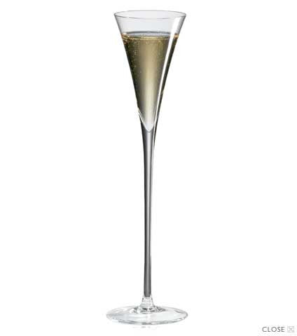Ravenscroft Crystal Flute Long Stem Champagne