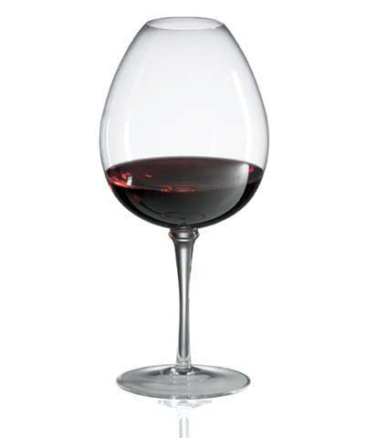 Ravenscroft Crystal Amplifier Mature Red Wine (Set of 4)