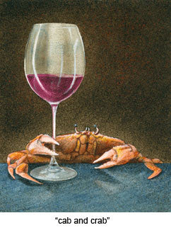 Cab and Crab by Will Bullas