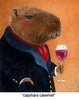 Image of Capybara Cabernet by Will Bullas