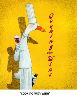 Cooking With Wine by Will Bullas