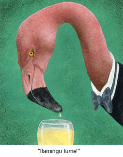Flamingo Fume by Will Bullas