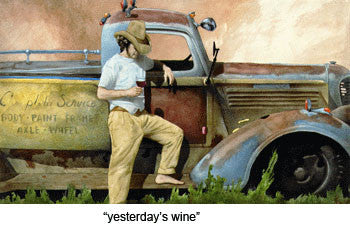 Yesterdays Wine by Will Bullas
