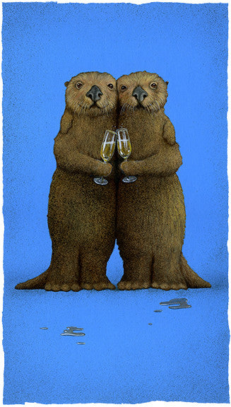 Significant Otters by Will Bullas