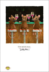 Image of Three Wined Mice by Will Bullas