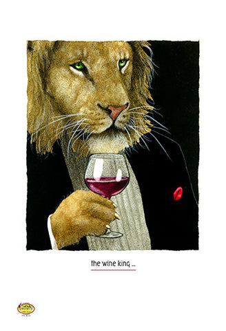 Wine King by Will Bullas