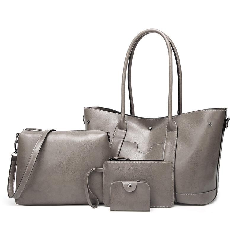 Wild Four-Piece Fashion Handbag Set