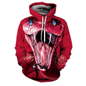 Animal Print 3D Hoodies