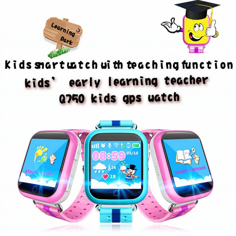 GPS Smart Watch Baby GPS Smart Watch With Touch Screen SOS Call Location Device Tracker for Kid Safe