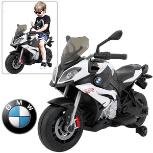 Rastar BMW S1000XR 12v Motorcycle White