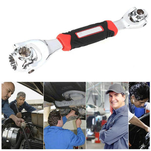360 Degree 6-Point Universal Wrench