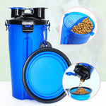 Portable Water and Pet Feeder with Bowl