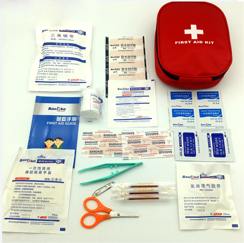 25pcs/pack Safe Medical Emergency First Aid Kit
