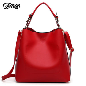 Red Hobo Design Shoulder Tote Bag