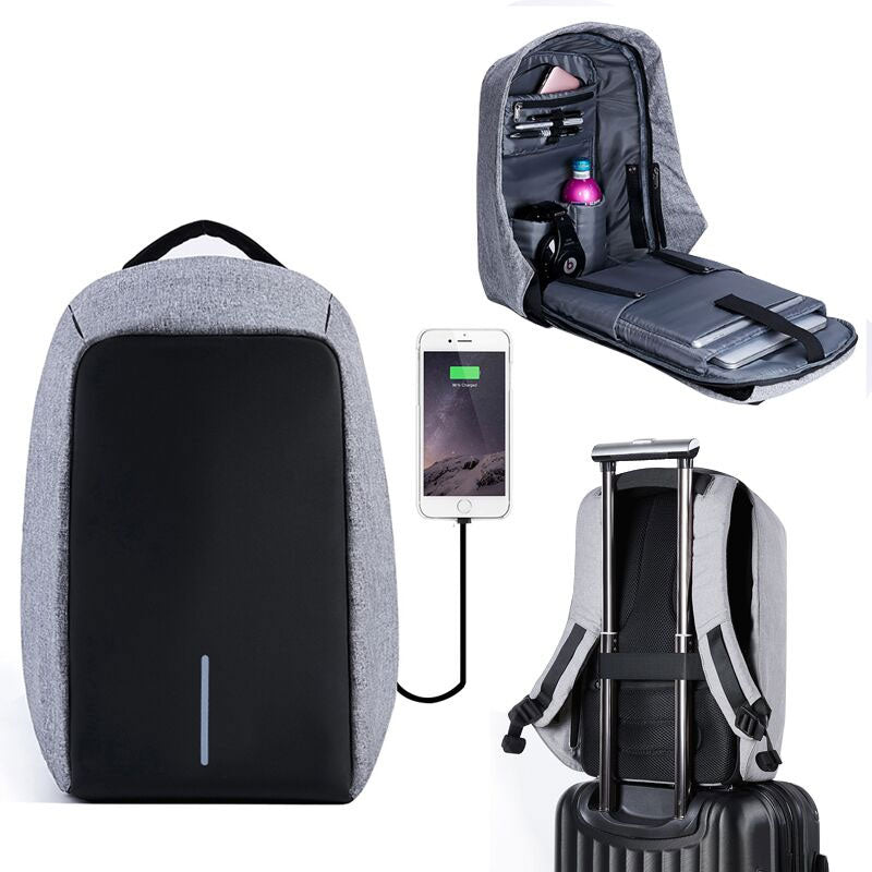 Waterproof 15inch Multifunction Anti theft Usb Charging Backpack