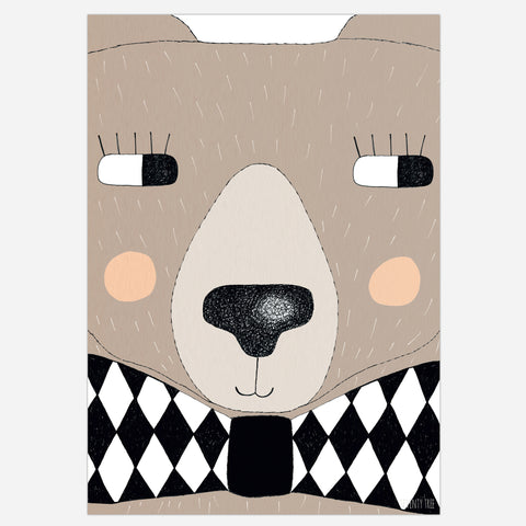 SeventyTree Big Bear Print