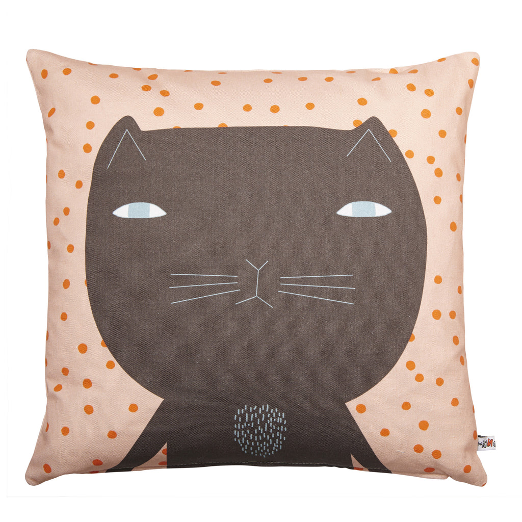 Donna Wilson Cleo Cushion Brown