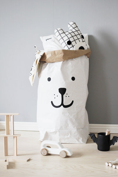 Tellkiddo Bear Paper Bag