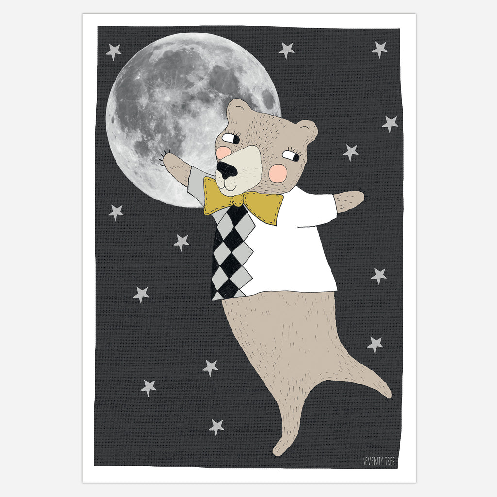 SeventyTree Moonlight Bear Print