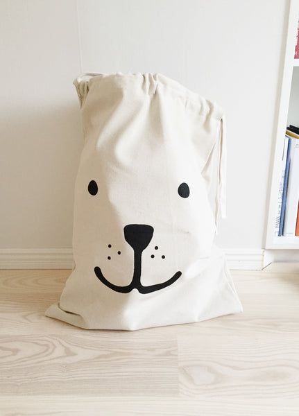 Tellkiddo Fabric Bear Bag