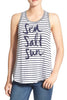 Graphic Cotton Tank