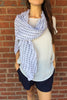 Chevron Lightweight Scarf