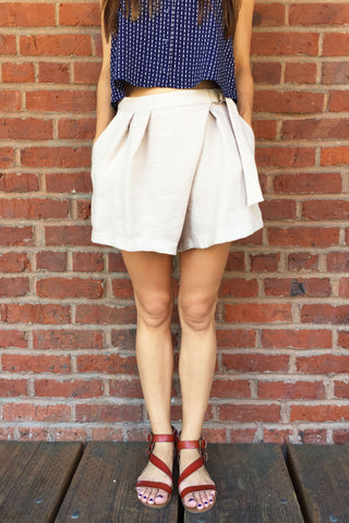 Ashley Linen Shorts