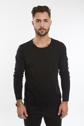 Black Court Sweater