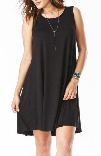 Bamboo Tank Swing Dress - EcoVibe Apparel  - 1