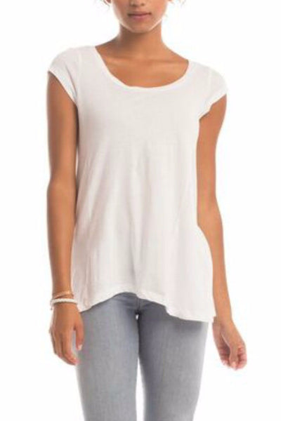 Anna Top in White - EcoVibe Apparel  - 1