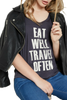 Eat Well Travel Often Tee - EcoVibe Apparel  - 3