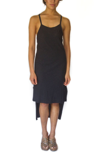 Double-Strapped Hi-Low Tank Dress - EcoVibe Apparel  - 1