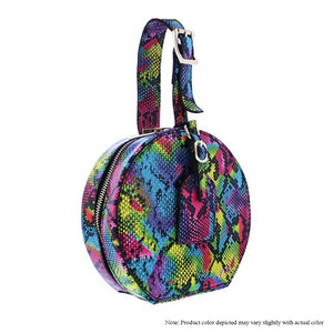 Arm Candy Bag - Multi Color Snake 2