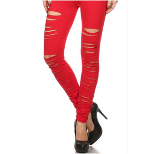 Distressed Leggings - The House of Stylez