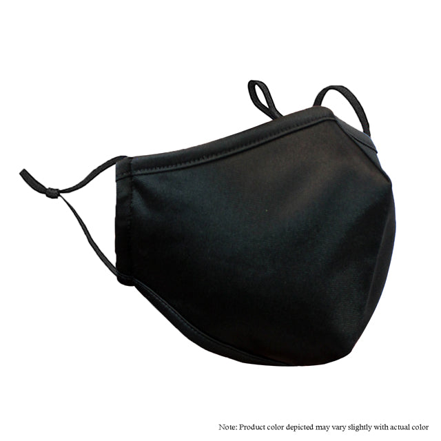 Adjustable Strap Mask -Black