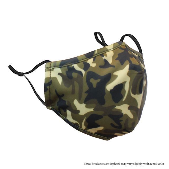 Adjustable Strap Mask -Camo