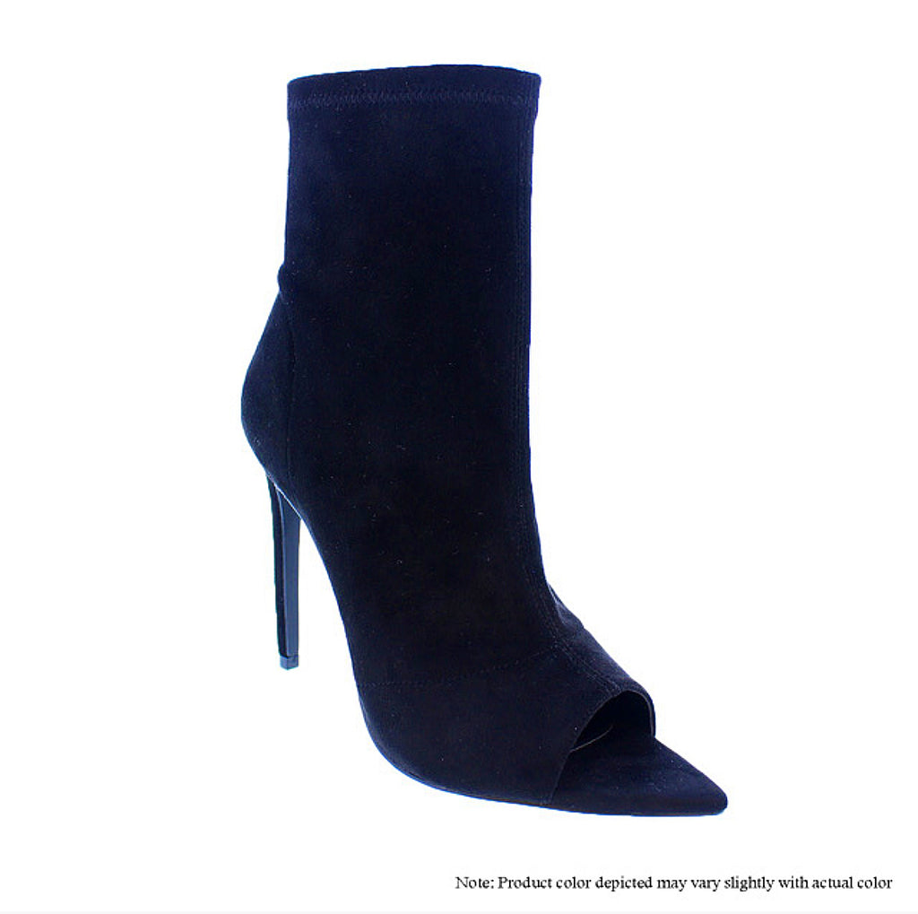 Lauren - Black {Ultra Suede} - The House of Stylez