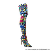 Giselle - Multi Snake Lycra - The House of Stylez