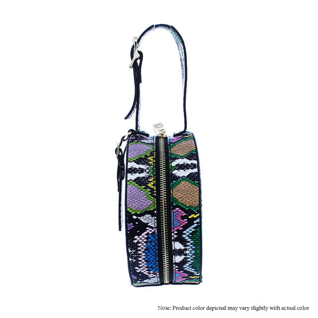 Multi Color Snake Arm Candy Bag - The House of Stylez