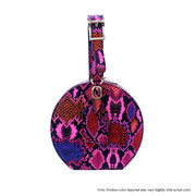 Pink Multi Color Snake Arm Candy Bag - The House of Stylez