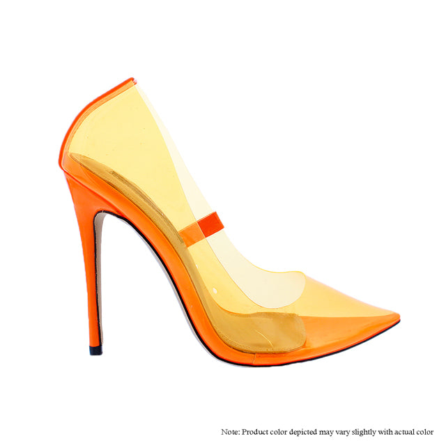 The Glass Slipper - Orange - The House of Stylez