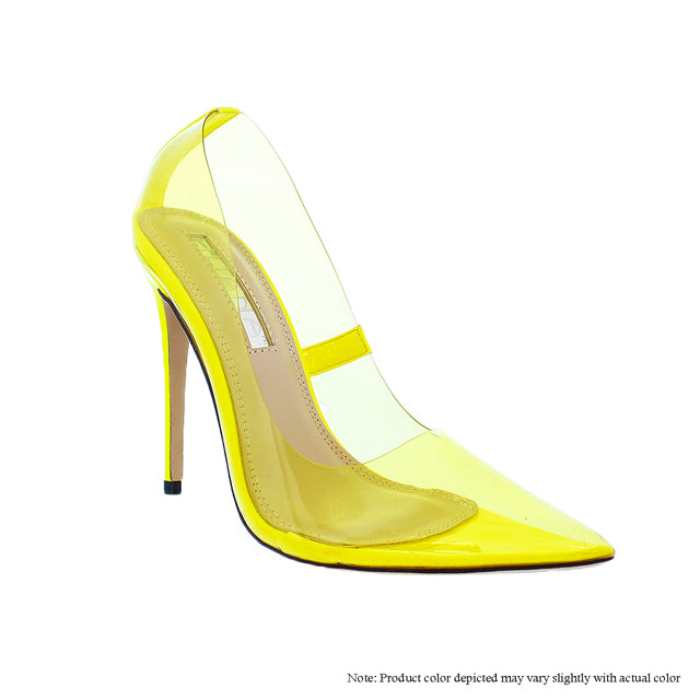 The Glass Slipper - Yellow - The House of Stylez