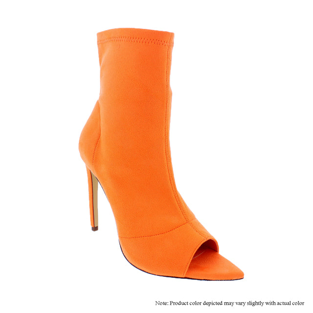 Lauren - Neon Orange  {Ultra Suede} - The House of Stylez